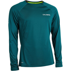 Salming Balance Longsleeve Shirt Heren, deep teal